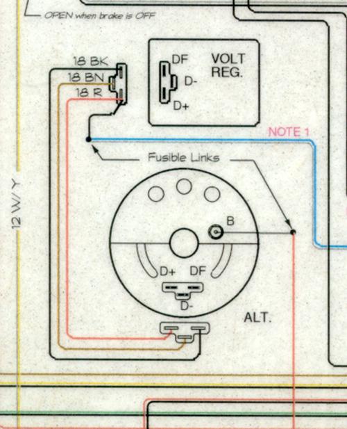 Voltage Regulator Wire Cut Need Advice Opel Gt Forum