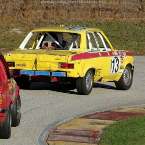 Richard Nixon's Opel Ascona at Road America
