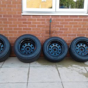 Astra / manta gte mattig wheels and tyres forsale