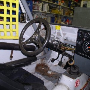 Ascona Race Car Interior
