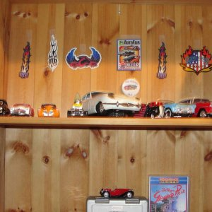 My collection of diecast cars.
