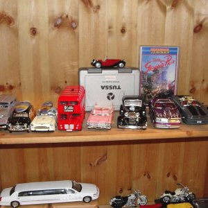 My collection of diecast cars