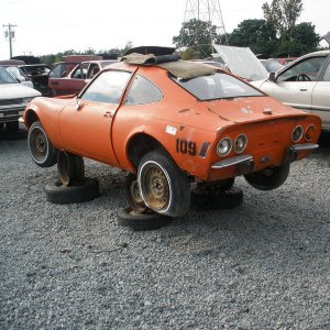 Opel GT in Charlotte Pull Apart - Please save it!